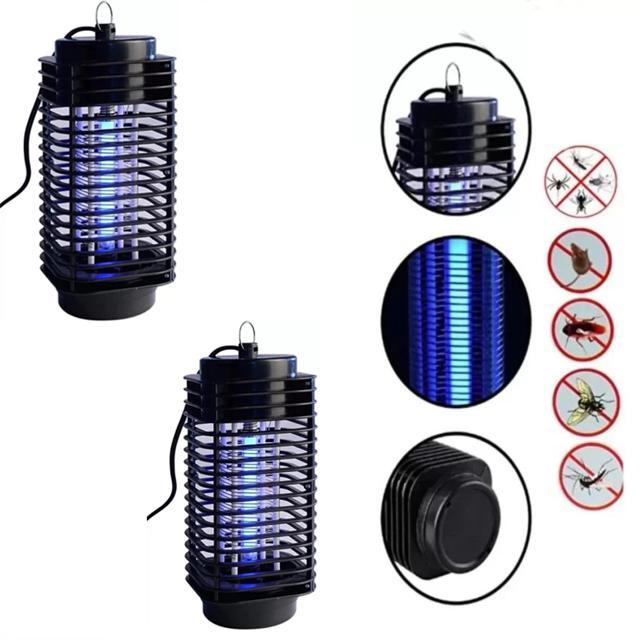 Đèn bắt muỗi và côn trùng hình tháp 3D( Bảo hành 6 tháng )