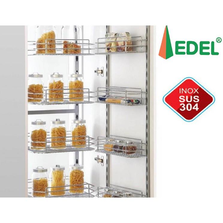Tủ đồ khô cánh mở inox 304 cao cấp, 6 tầng 12 rổ GK.450, bảo hành