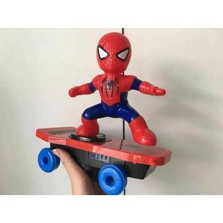 [HÀNG HOT] Ván trượt siêu nhân người nhện / đồ chơi người nhện trượt ván [GIÁ TỐT]