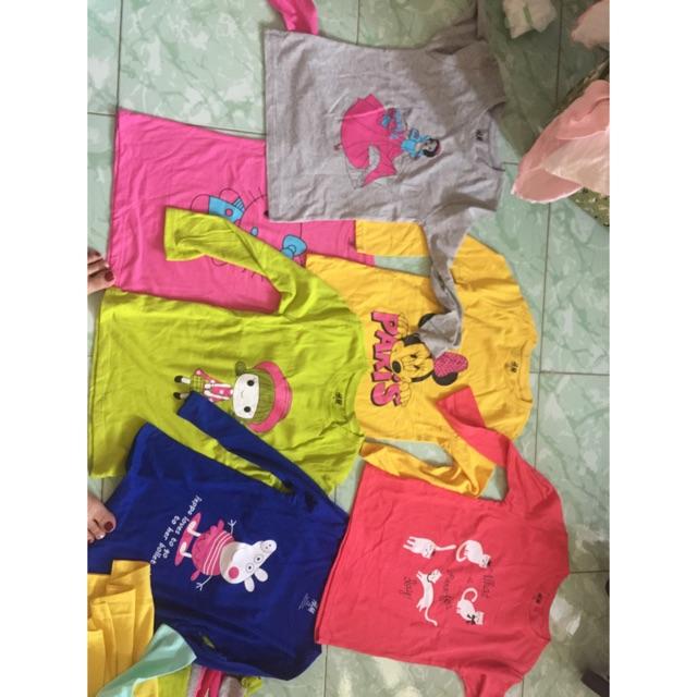 Conbo 6 áo phông bé gái