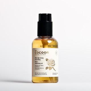 Dầu tẩy trang hoa hồng cocoon 140ml (rose cleansing oil) sạch da, mềm mịn thumbnail