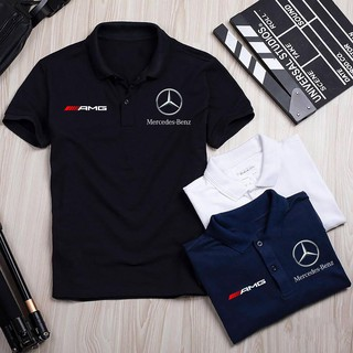 Áo thun Polo Mercedes Cao Cấp – Polo Merc có cổ – Áo Mercedes Logo Hãng Xe Ô tô nhiều màu sang trọng, lịch lãm, đẳng c