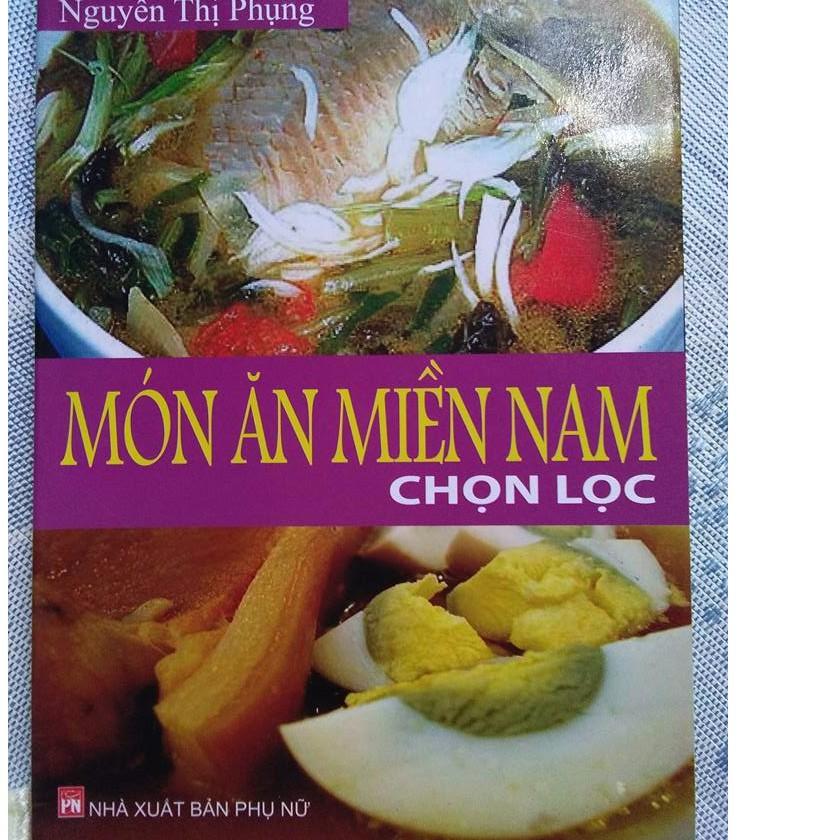 Sách_Món ăn miền Nam chọn lọc