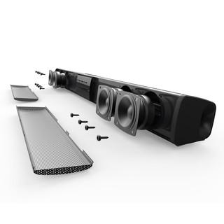 Loa thanh Bluetooth Gaming Soundbar để bàn BS-28B (HD86) dùng cho máy vi tính để bàn máy tính xách tay Tivi