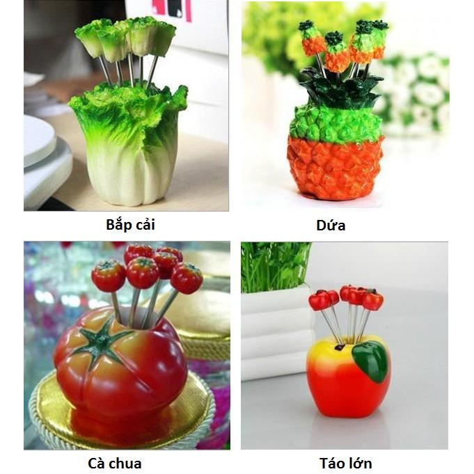 Nĩa ghim trái cây - kiểu dáng độc đáo