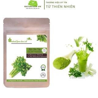 Bột Cần Tây Sấy Lạnh Natufarm 100GR [ SIÊU MỊN ] – 100% organic giúp giảm cân, thanh lọc và detox