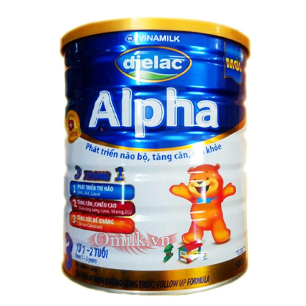 Sữa bột Dielac Alpha Số 3 900g