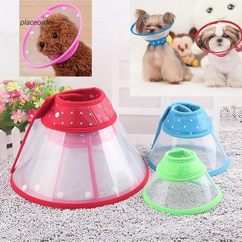 PEOD_Puppy Pet Dog Cat Comfy Cone Neck Collar Anti-Bite Medical Recovery Protection