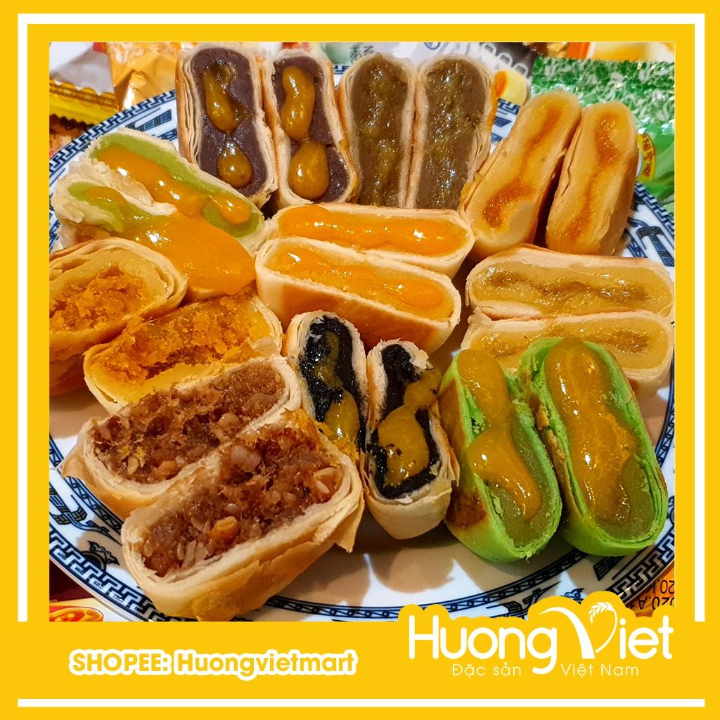 Combo Bánh pía kim sa Tân Huê Viên 10 bánh 10 vị khác nhau
