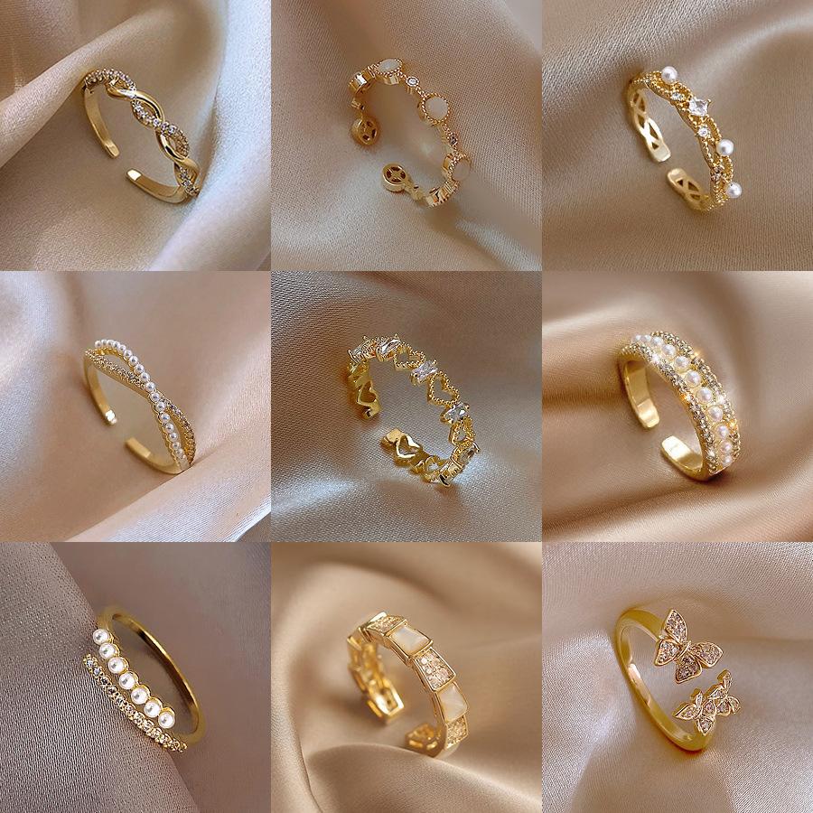 Nhẫn đeo ngón tay thiết kế độc đáo thời trang c