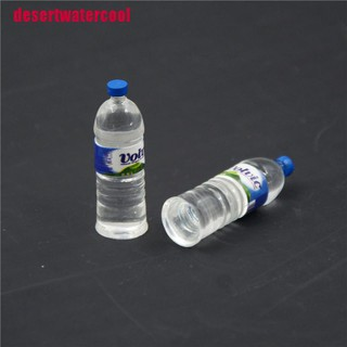 [desertwatercool]2pcs Bottle Water Drinking Miniature DollHouse 1:12 Toys Accessory Collection