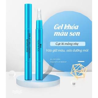 Gel khóa màu son môi 24h BIOAQUA giúp giữ màu son bền màu không trôi không lem gel giữ son