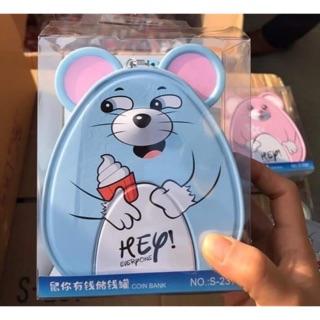 Két sắt mini hình chuột mới siêu kute