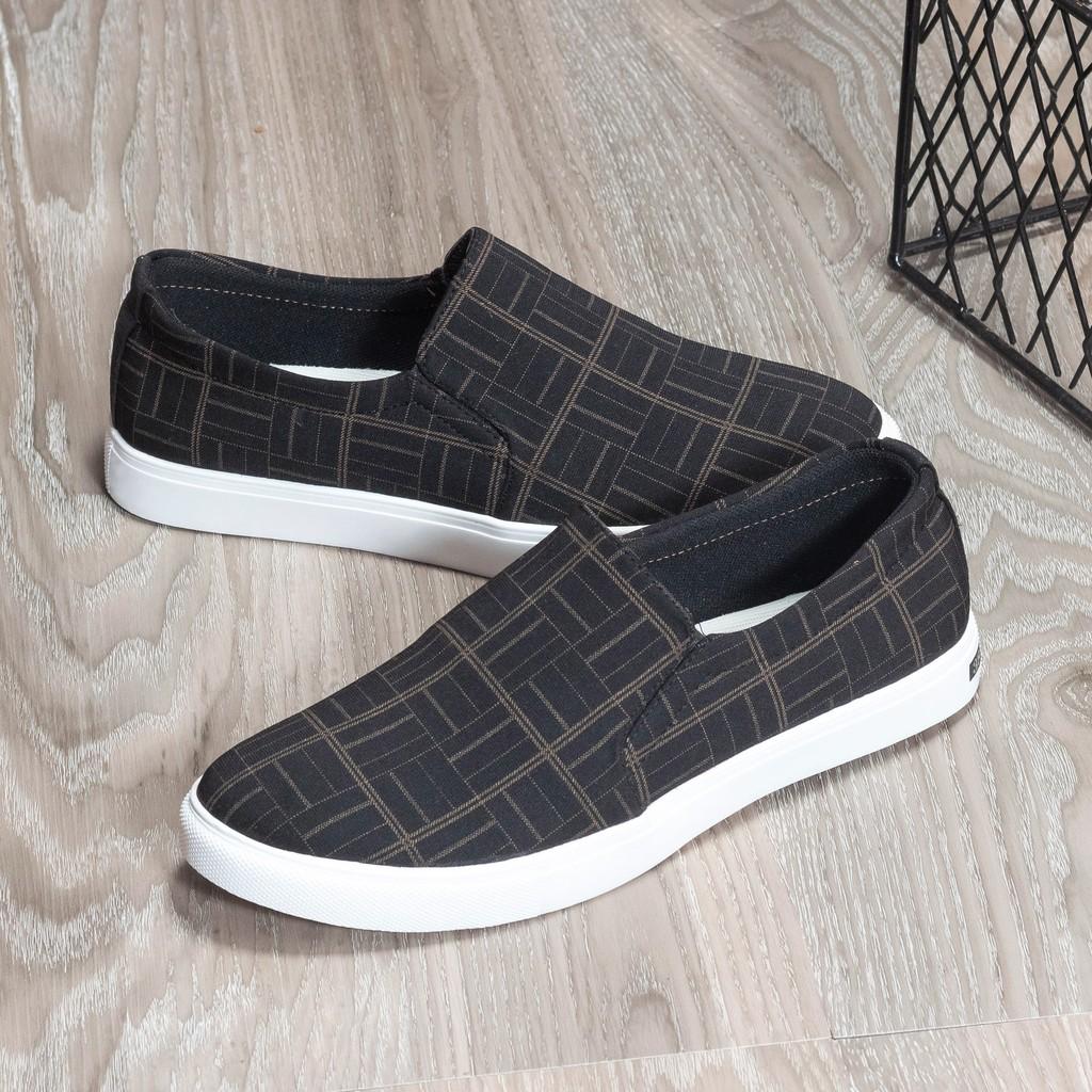 Giày lười vải ORSIL mã L17 Caro