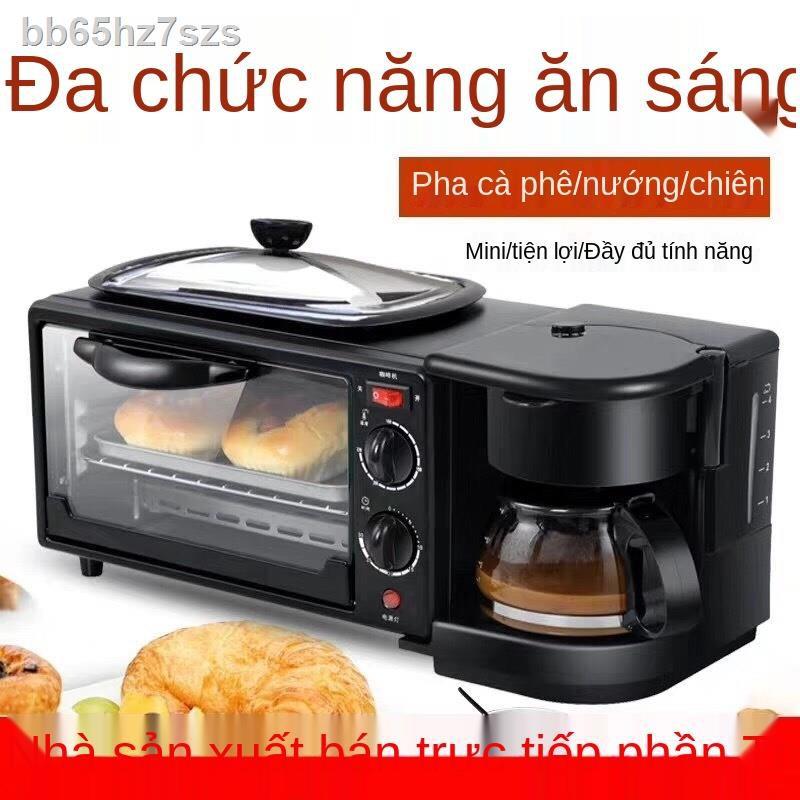 ▬♗☜lò nướng và máy ăn sáng đa năng, đồ gia dụng nhỏ, quà tặng gia đình, nồi chiên giá sỉ, máy pha cà phê bánh mì kẹp xuy