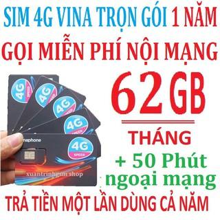 [Miễn phí 12 tháng] Sim 4G Vinaphone trọn gói VD89_12TH không nạp tiền