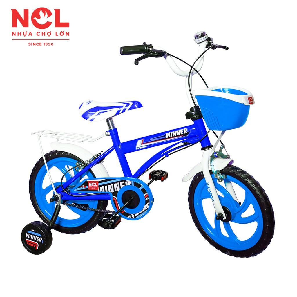 Xe Đạp Trẻ Em Nhựa Chợ Lớn 12 inch K106 - Cho Bé Từ 3 đến 4 T