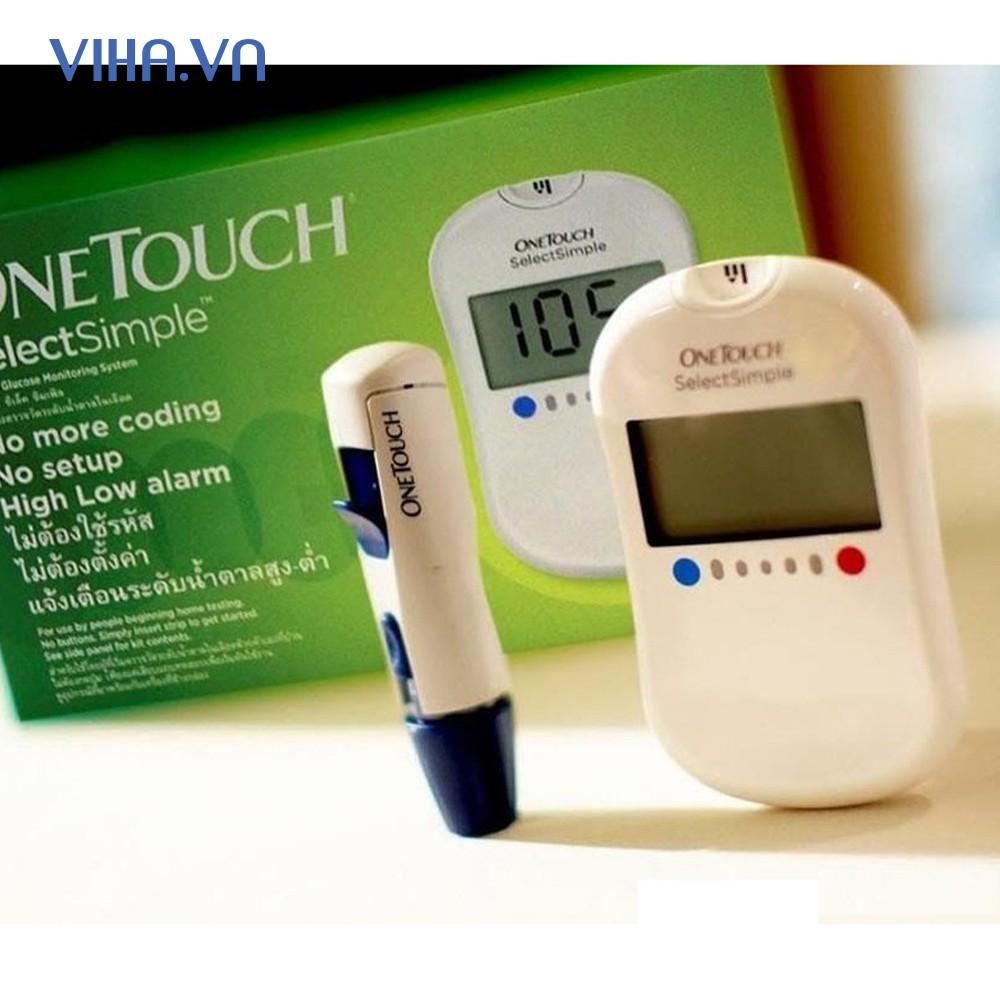 Máy Đo Đường Huyết One Touch Seclect Simple