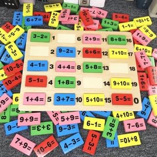 Domino toán số