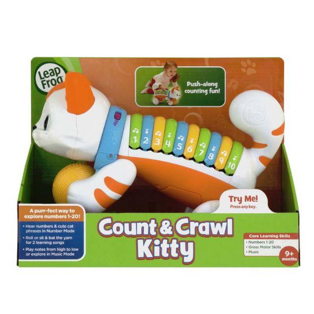 Mèo con tập đếm Leapfrog