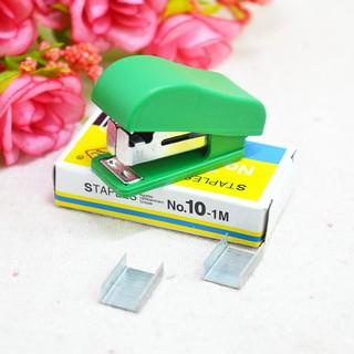 Dập ghim mini tiện dụng - tặng kèm 1 ít ghim mẫu dùng thử thumbnail