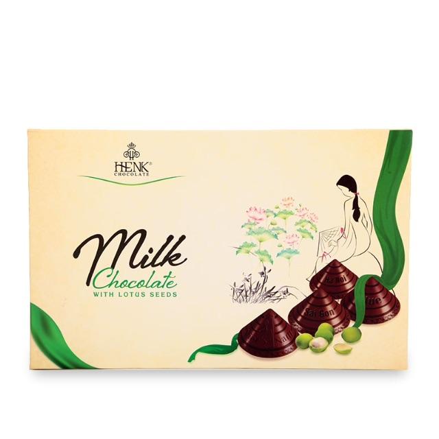 Sô Cô La Sữa Viên Henk Nhân Hạt Sen Nón Lá 120g - 2514726 , 853722121 , 322_853722121 , 99000 , So-Co-La-Sua-Vien-Henk-Nhan-Hat-Sen-Non-La-120g-322_853722121 , shopee.vn , Sô Cô La Sữa Viên Henk Nhân Hạt Sen Nón Lá 120g