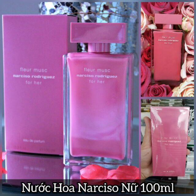 Nước Hoa Narciso Fleur Musc For Her 100ml Shopee Việt Nam