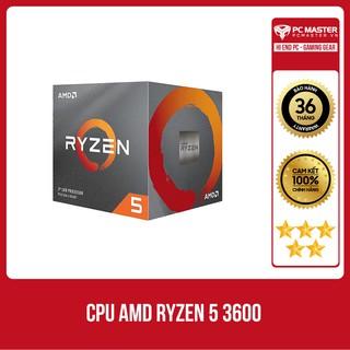 CPU AMD Ryzen 5 3600 (3.6GHz turbo up to 4.2GHz, 6 nhân 12 luồng, 32MB Cache, 65W) thumbnail