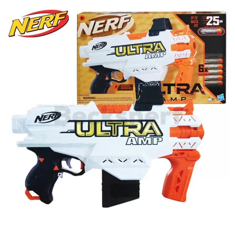 Hộp Đồ Chơi Xốp Nerf Ultra AMP Chính Hãng Dùng Pin