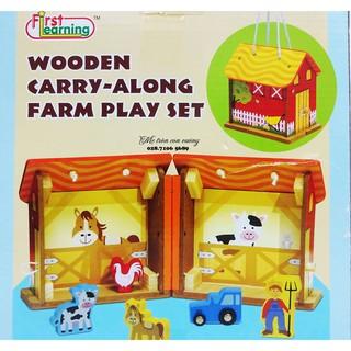 Bộ đồ chơi gỗ First learning