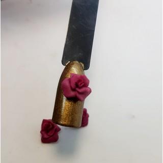 Hoa bột vẽ nổi fatasy sản phẩm trang trí móng.HN026