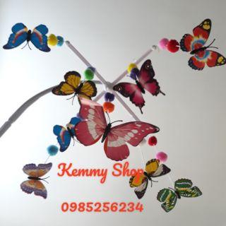 Mẫu treo nôi bướm chuyển động