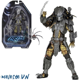 VN Neca Elder Predator 18CM Scale Action Figure Movable Toy Collection
