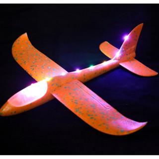 Máy bay xốp cho bé có đèn có nhạc (loại to)