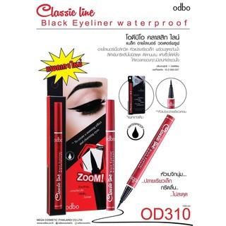 Bút kẻ mắt nước Odbo Classic Line OD310 thumbnail