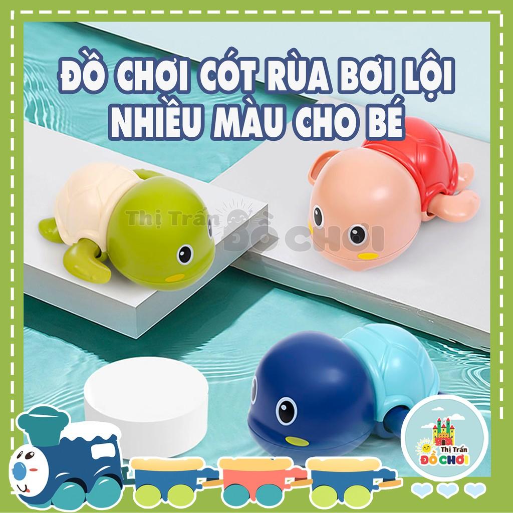 Đồ chơi nhà tắm - rùa bơi dưới nước vặn cót nhựa an toàn cho bé - Thị trấn đồ chơi