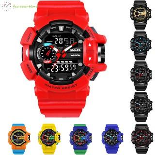 ☞ Phụ kiện trang sức☜ Sport Watch LED Digital Watches 50M Waterproof Multifunctional Wristwatch with Alarm Clock Date