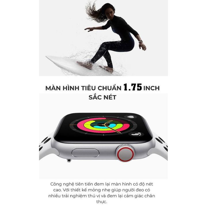 [Bảo Hành 12 Tháng] Đồng hồ thông minh T500 Plus , Seri 6 , Có Game , Thay Đổi Hình Nền Pin Trâu Nghe Gọi Nhắn Tin