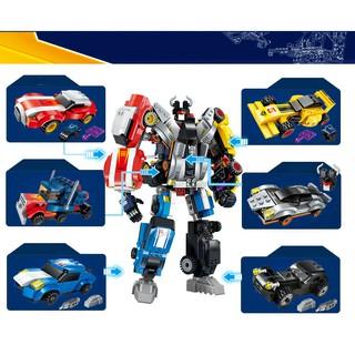 Bộ Đồ Chơi Lắp Ghép Robot Biến Hình Autobot 6 in 1 Model 1409 – ENLIGHTEN