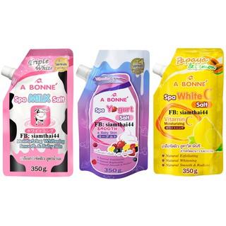 Muối tắm A Bonne Thái Lan có vòi 350g (sữa bò, yogurt trái cây, chanh) thumbnail