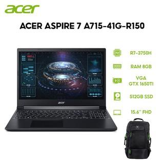 Laptop Acer Aspire 7 A715-41G-R150 R7-3750H 8GB 512GB VGA GTX 1650Ti 4GB 15.6 FHD Win 10 thumbnail