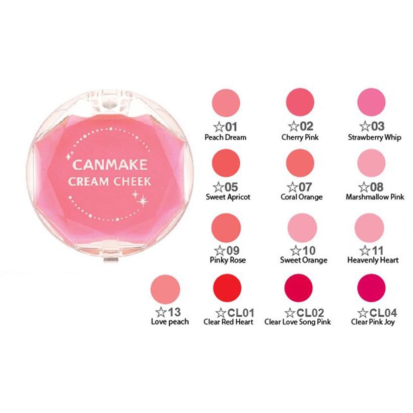 Má Hồng Dạng Kem - Canmake Cream cheek | Shopee Việt Nam