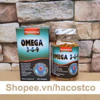 Viên uống Viên Dầu Cá Omega 369 Pharmekal 100 viên thumbnail