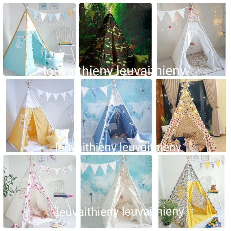[Tổng hợp mẫu] Lều vải Thiên Ý tự sản xuất – giá tận gốc – vải cotton 100% canvas linen cao cấp