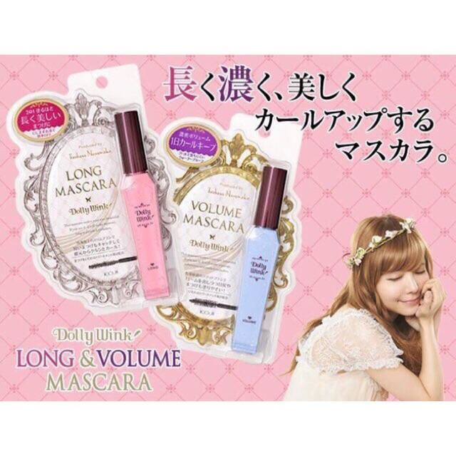 Mascara Dolly Wink Nhật Bản làm dày mi