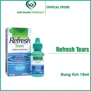 Nước nhỏ mắt Refresh Tears 15ml – ❤️FREESHIP❤️