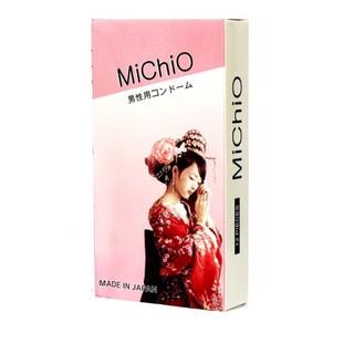 Bao Cao Su Siêu Mỏng Có Gân Size Nhỏ 49mm MiChiO Nhật Bản Hộp 12 Chiếc thumbnail