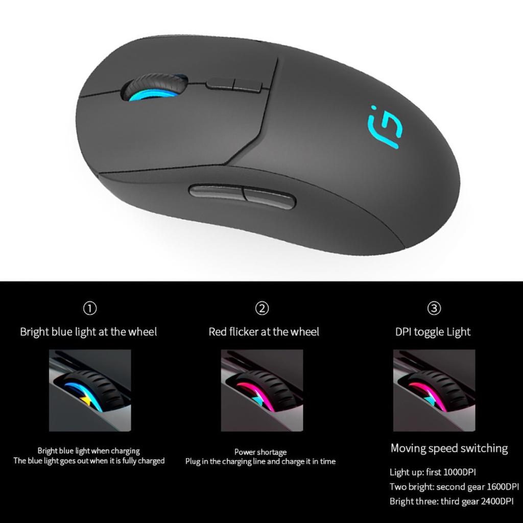 chuột không dây Ms X8 2.4g
