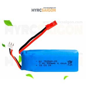 PIN 2S 900MAH 25C XK X520 CODE 752560