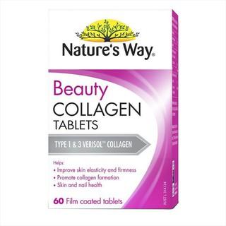 Viên Uống Collagen Nature s Way Beauty Collagen hộp 60 Viên thumbnail